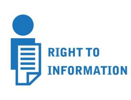 Godišnje izvješće o pravu na pristup informacijama za 2019. godinu