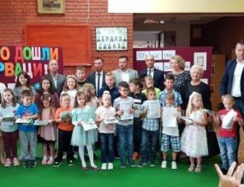 Prvi dan škole u OŠ Negoslavci, podjeljeni besplatni udžbenici, 03.09.2018. godine