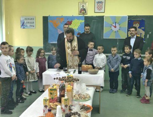 Predškola u Negoslavcima proslavila deseti put krsnu slavu Svetog Trifuna