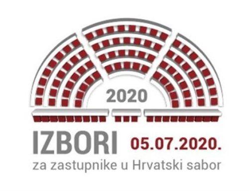 Objava i obavijest biračima povodom nadolezećih izbora za zastupnike u Hrvatski sabor (05.07.2020. godine)