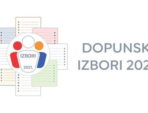 Rješenje o određivanju biračkih mjesta na području Općine Negoslavci za lokalne izbore koji će se održati 03.10.2021. godine
