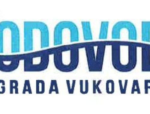 Vodovod Grada Vukovara – Odluka o cijeni vodnih usluga i Odluku o naknadi za razvoj